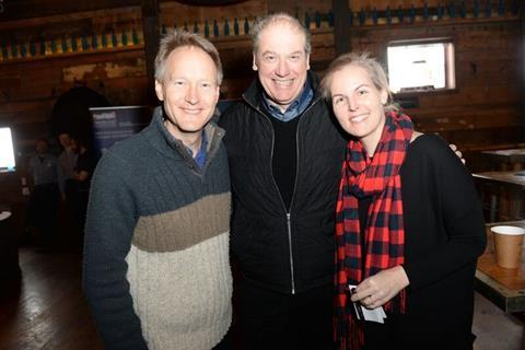 Chris O'Connor, Adrian Wootton and Jess Conoplia